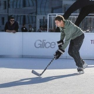 fake ice Glice rink