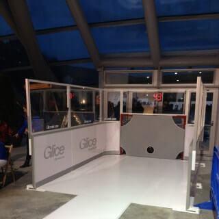 Glice Slapshot Station Ice Panels