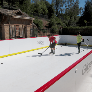 Glice mini arena synthetic ice