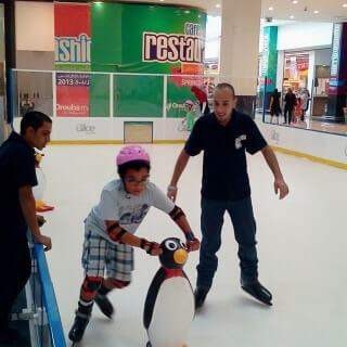 Glice synthetic ice rink
