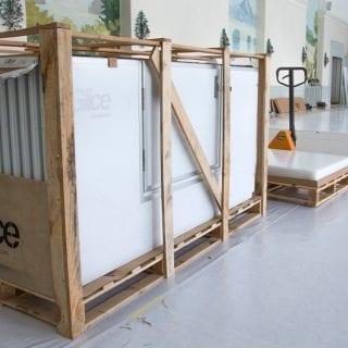 Glice Ice sheet installation