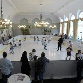 Hockey Glice synthetic ice rink
