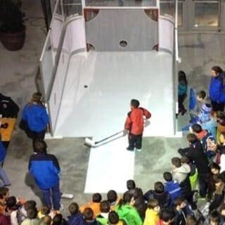 ice panels - Glicerink
