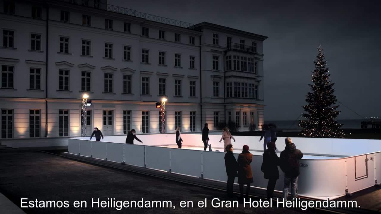 ¿Por qué el Gran Hotel Heiligendamm, en Alemania, ha optado por una pista sintética de hielo de Glice®?