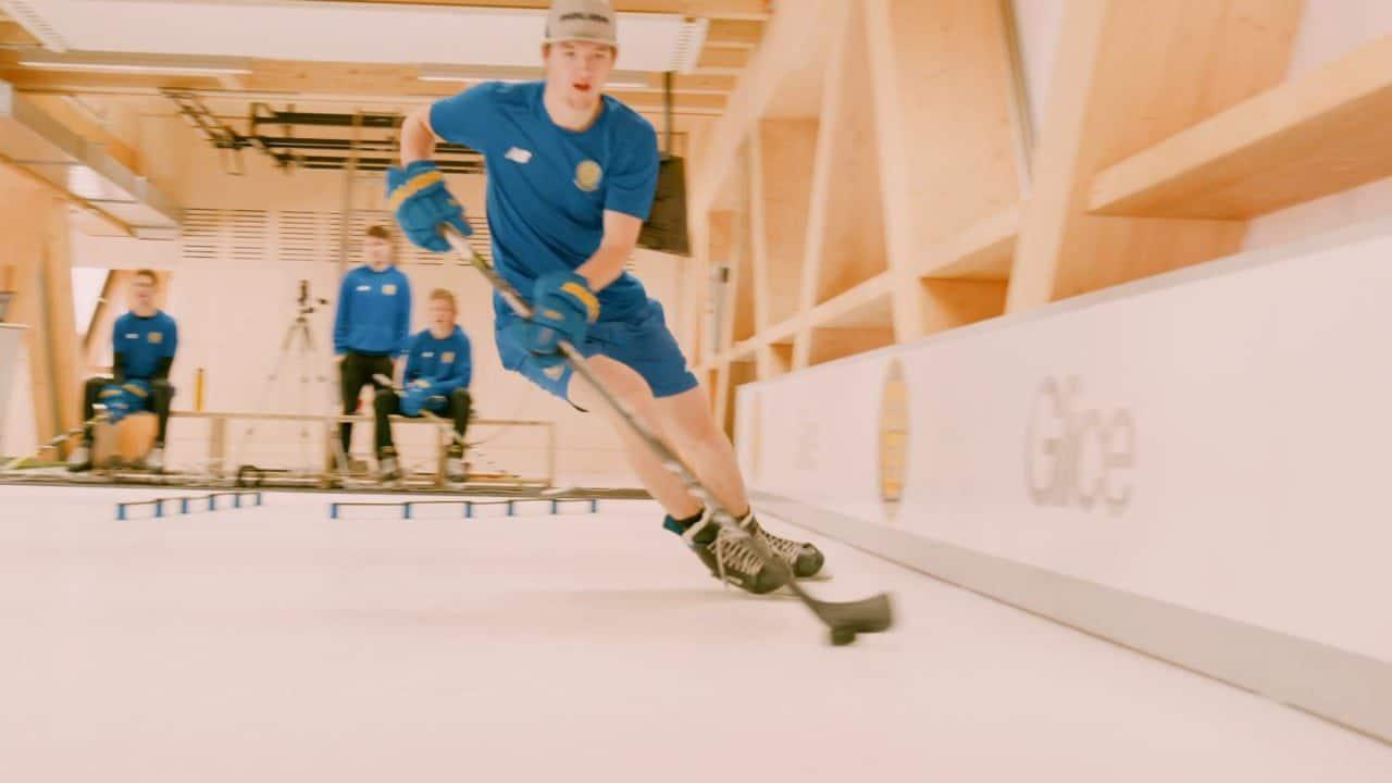 スイスのHC DavosにあるGlice Hockey Elite Center™は、世界の中でも最先端のトレーニングセンターです