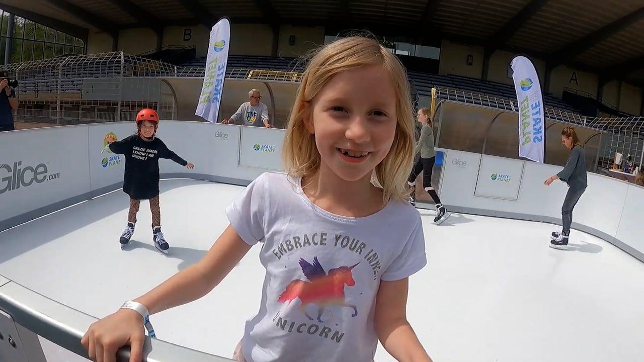 用乐思速冰合成冰为地球滑冰!