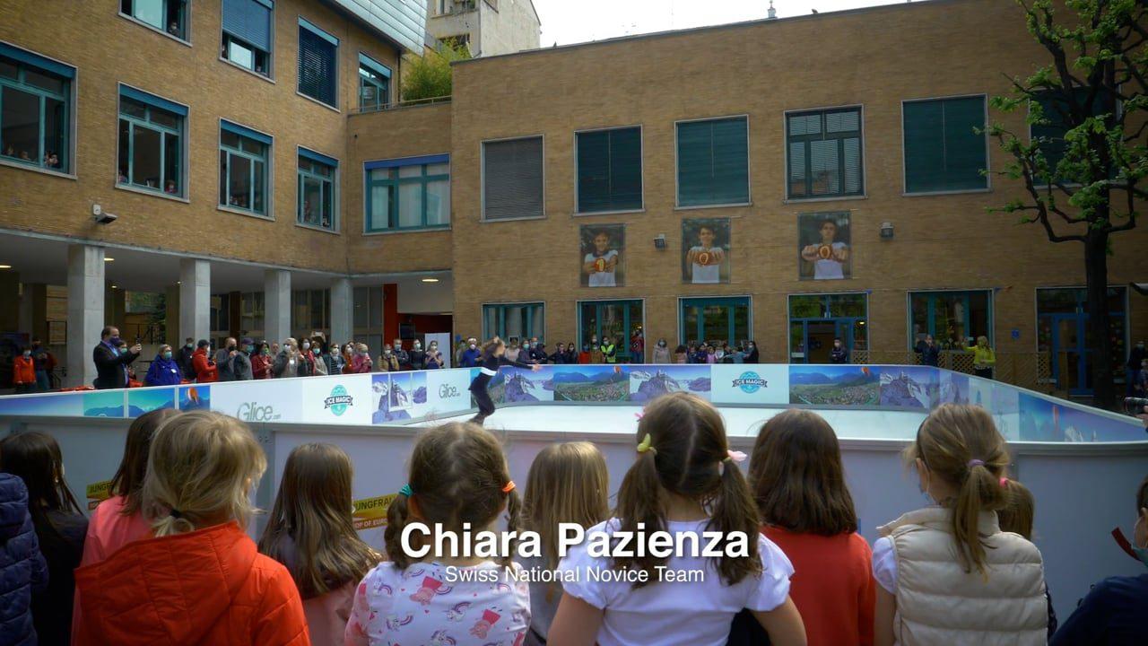 米兰瑞士学校的 乐思速冰合成溜冰场备受瞩目