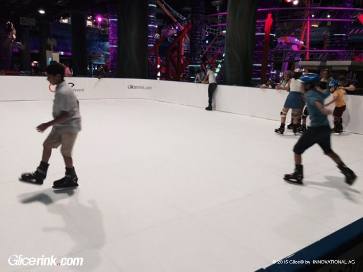 Glice® Synthetic Ice Rink Enhances Leisure at Istanbul's Biggest Mall