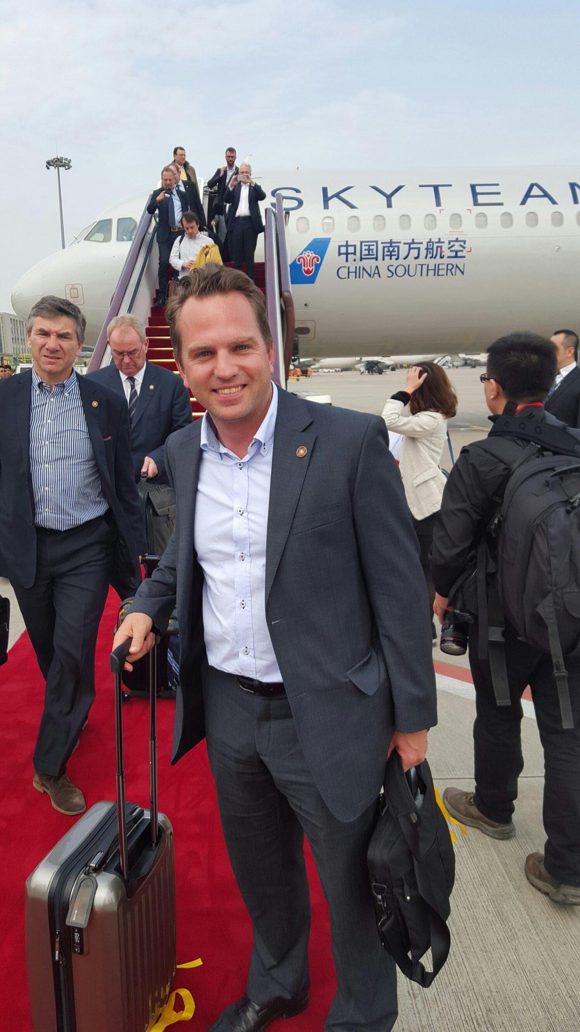 El cofundador de Glice® invitado a la visita de estado en China
