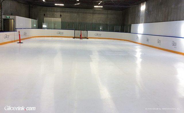 Glice® Kunststoff Eisfläche in Vancouver, Canada