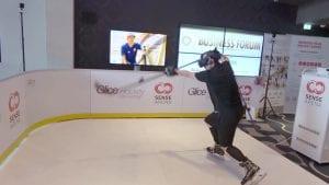 Tous les regards braqués sur les patinoires synthétiques Glice lors du dernier Hockey Business Forum à Berlin!