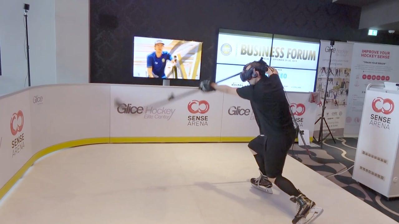 Alle Augen auf Glice synthetisches Eis gerichtet beim Hockey Business Forum in Berlin!
