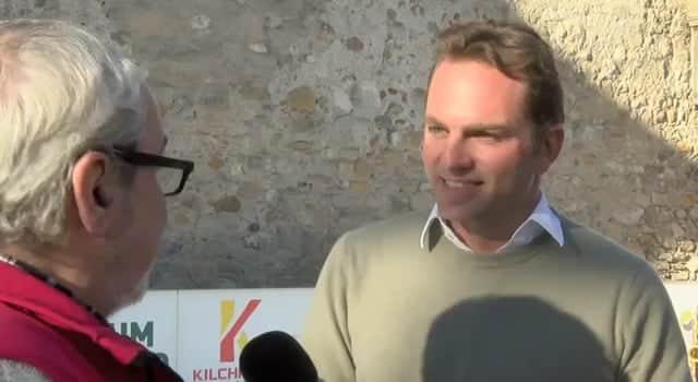 Alle Jahre wieder: Glice® Synthetikeis Mitbegründer Viktor Meier beim 3. Thun Schlossberg on Ice