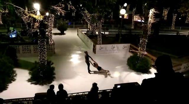 Les patinoires synthétiques Glice sont adaptables à tous les lieux