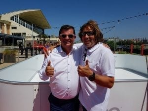 """Belgium's """"Coolest"""" Summer Bar: Glice® Synthetic Ice Rink in Seaside Town Oostende"""