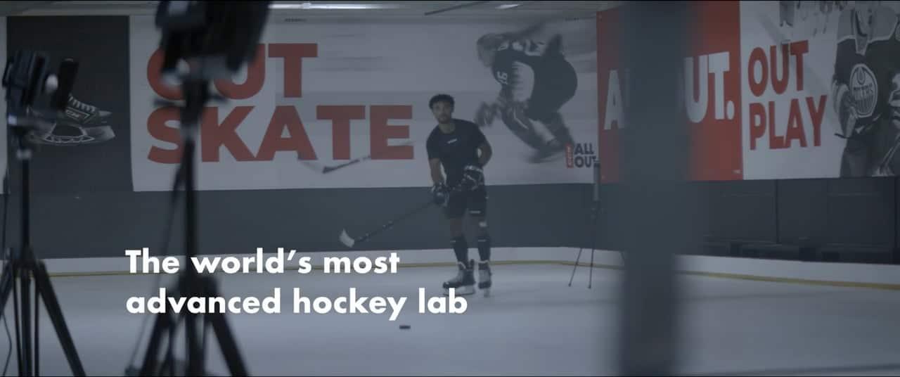 CCM et patinoire en glace synthétique Glice : le laboratoire de recherches pour hockey le plus avancé au monde !