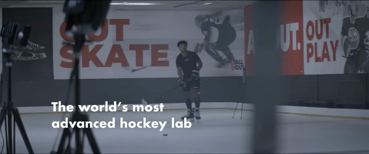 CCM und Glice Synthetikeis: das weltweit fortschrittlichste Eishockey Performance Lab