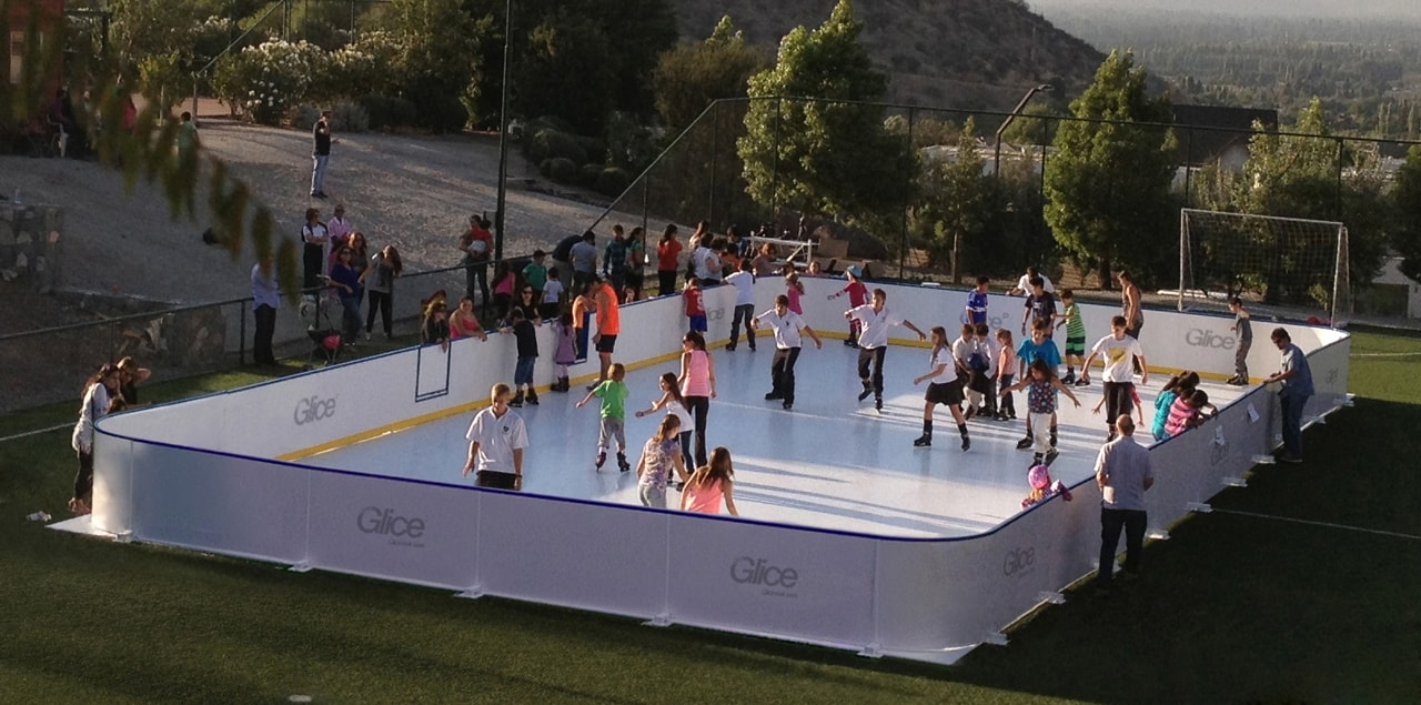 artificial Glice ice rink
