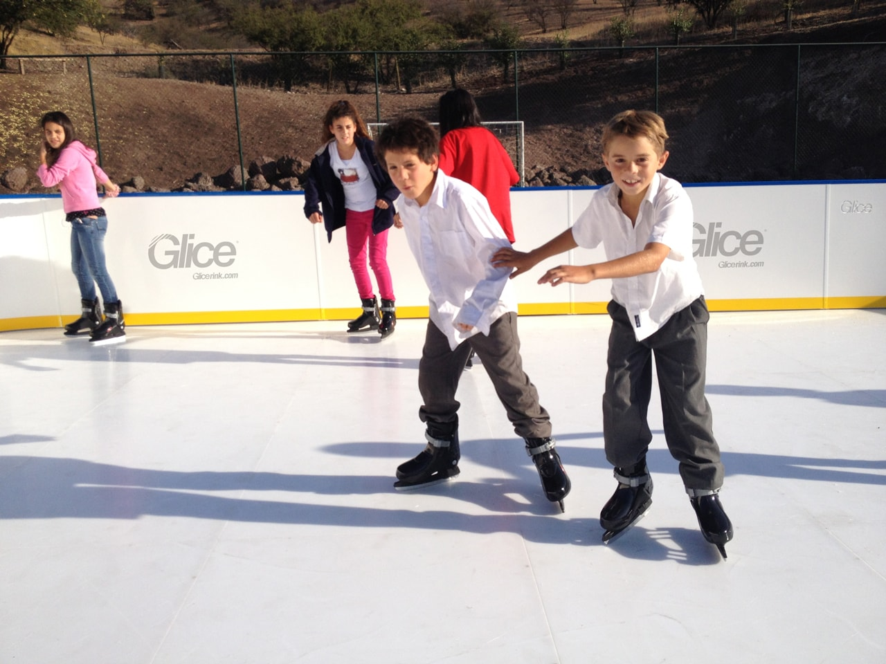 synthetic Glice ice rink - Chile