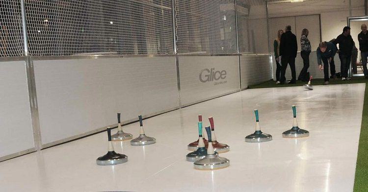 Glice® Synthetic Eisstock Curling Lanes Installed in St. Gallen, Switzerland