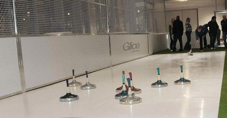 Glice® Synthetic Eisstock Curling Lanes Installed in St. Gallen, Switzerland
