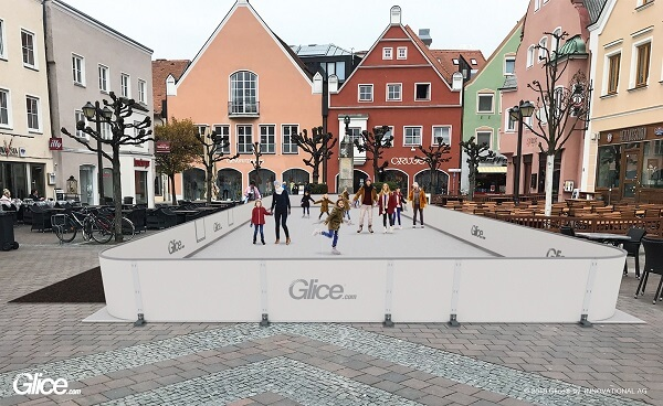 The Best Synthetic Ice for the City with the Best Wheat Beer: Glice® Rink in Erding this Year