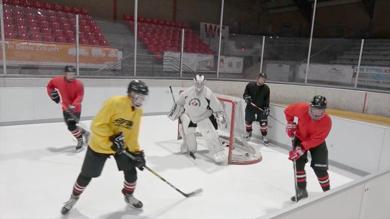 Deutscher Eishockeyclub entscheidet sich für Glice Synthetikeis