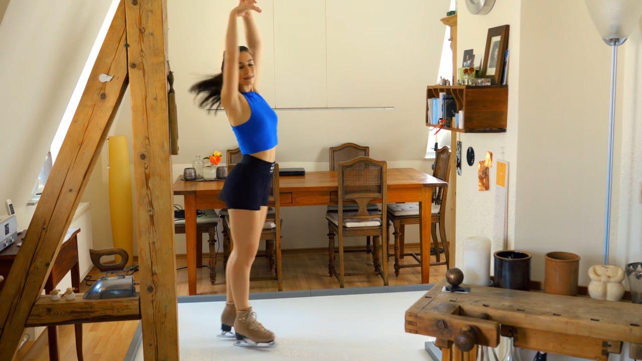 Du träumst von einer ganzjährigen Saison? Hör auf zu träumen und fang an zu Skaten mit Glice Home Synthetikeis!