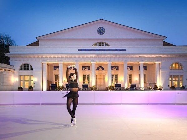Eco-friendly Glice® Synthetic Ice Rink at the Classy Grand Hotel Heiligendamm in Germany 1
