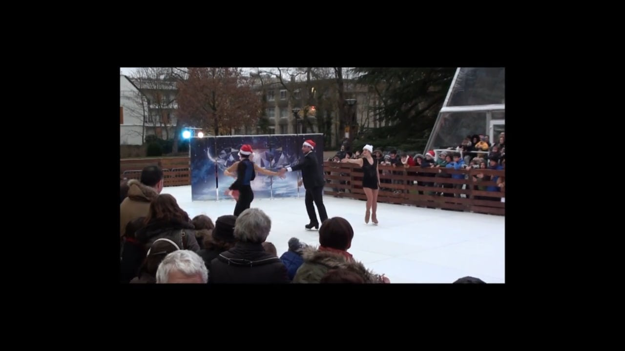 French Ice Skating Athletes Deliver Stunning Performance on Glice® Synthetic Ice Rink