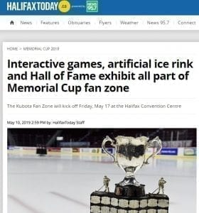 Glice® Artificial Ice Mentioned on Canadian News Outlet Halifax Today