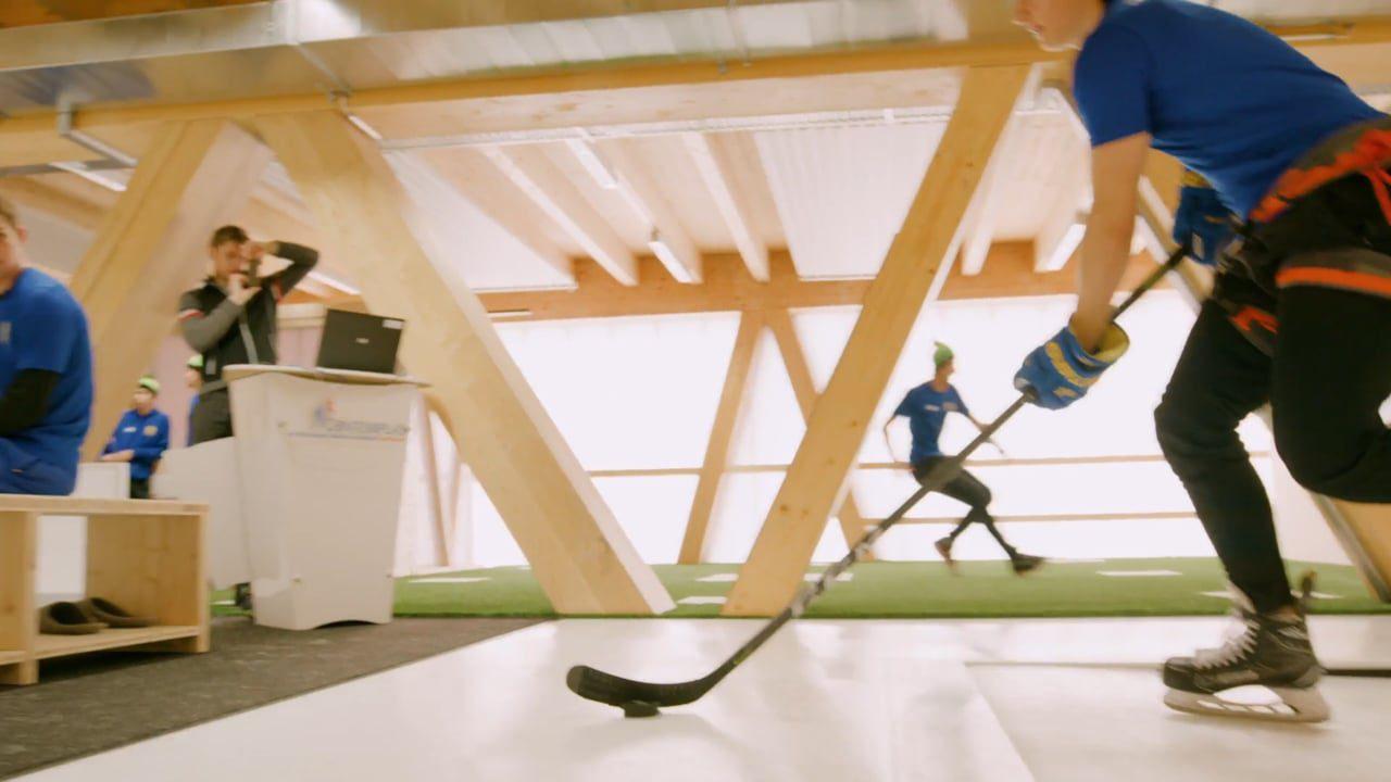 Glice® Hockey Elite Center – dem Gegner einen Schritt voraus!