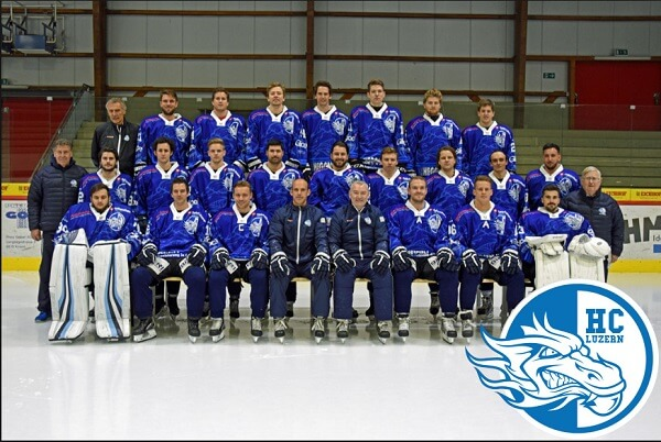 Glice® Home Town Club HC Luzern Advances to Swiss Premier League – Congrats Guys!!