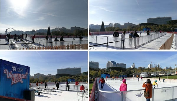 And with a sunny Portuguese winter ahead, the waterless synthetic ice rink is the ideal solution for ecological skating fun throughout the season!
