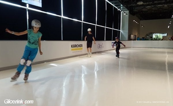 Glice® Synthetic Ice Rink Fits Right in at Technical Museum in Brno, Czech Republic