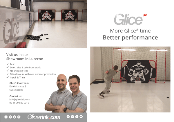 Glice® Synthetic Ice Pads: More Glice-Time, Better Performance – Get Your Discount Now