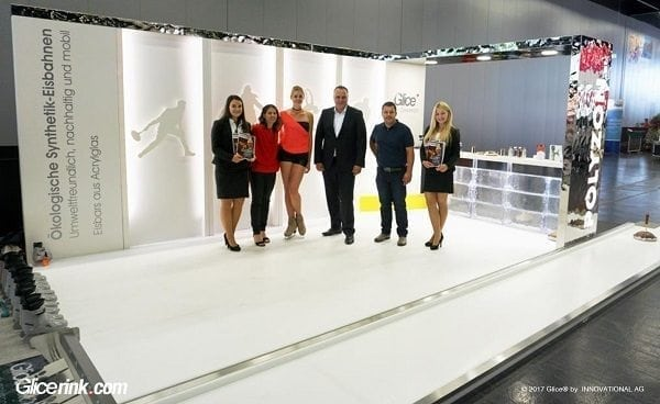 Glice® Synthetic Ice Rink Leaves Lasting Impression at Austrian Municipal Trade Show