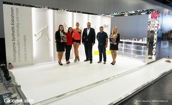 Glice® synthetische Eisbahn hinterlässt bleibenden Eindruck bei österreichischer Kommunalmesse