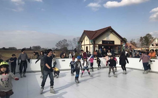 A Touch of Europe – Glice® Synthetic Ice Rink at German Village in Japan