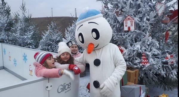 Glice® Synthetic Ice Rink in Croatia Big with the Little Ones