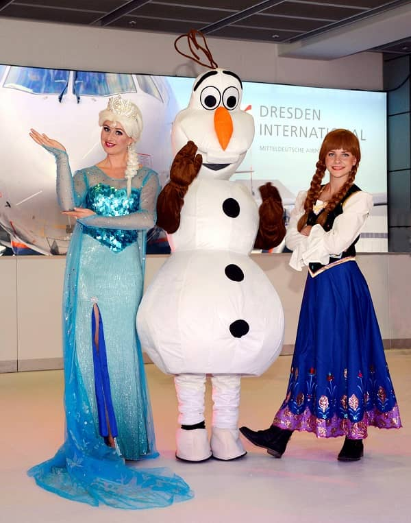 Glice® Synthetic Ice Rink in Dresden International Airport Terminal 1