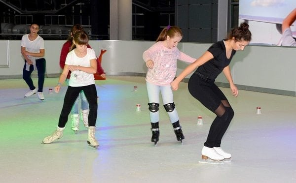 Glice® Synthetic Ice Rink in Dresden International Airport Terminal 2