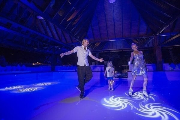 Olympic Gold Medalist Evgeni Plushenko Inaugurates First Glice® Synthetic Ice Rink in the Maldives at Jumeirah Vittaveli