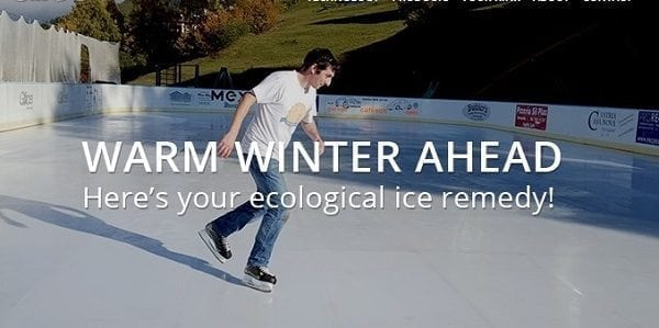 Glice® Synthetic Ice Rinks Are the Sustainable Remedy for Warm Winters