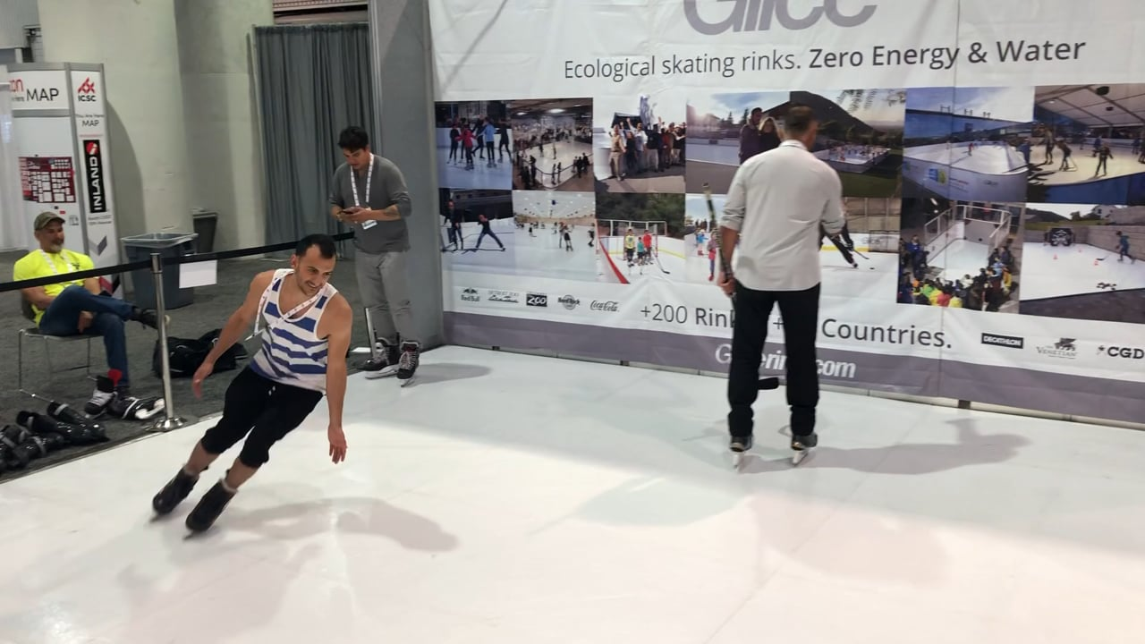 Glice® Synthetic Ice at RECon in Las Vegas