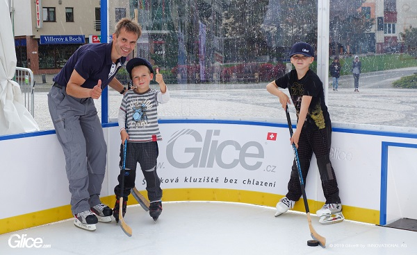 Glice® Synthetic Ice at the 2019 IIHF Ice Hockey World Championship in Slovakia