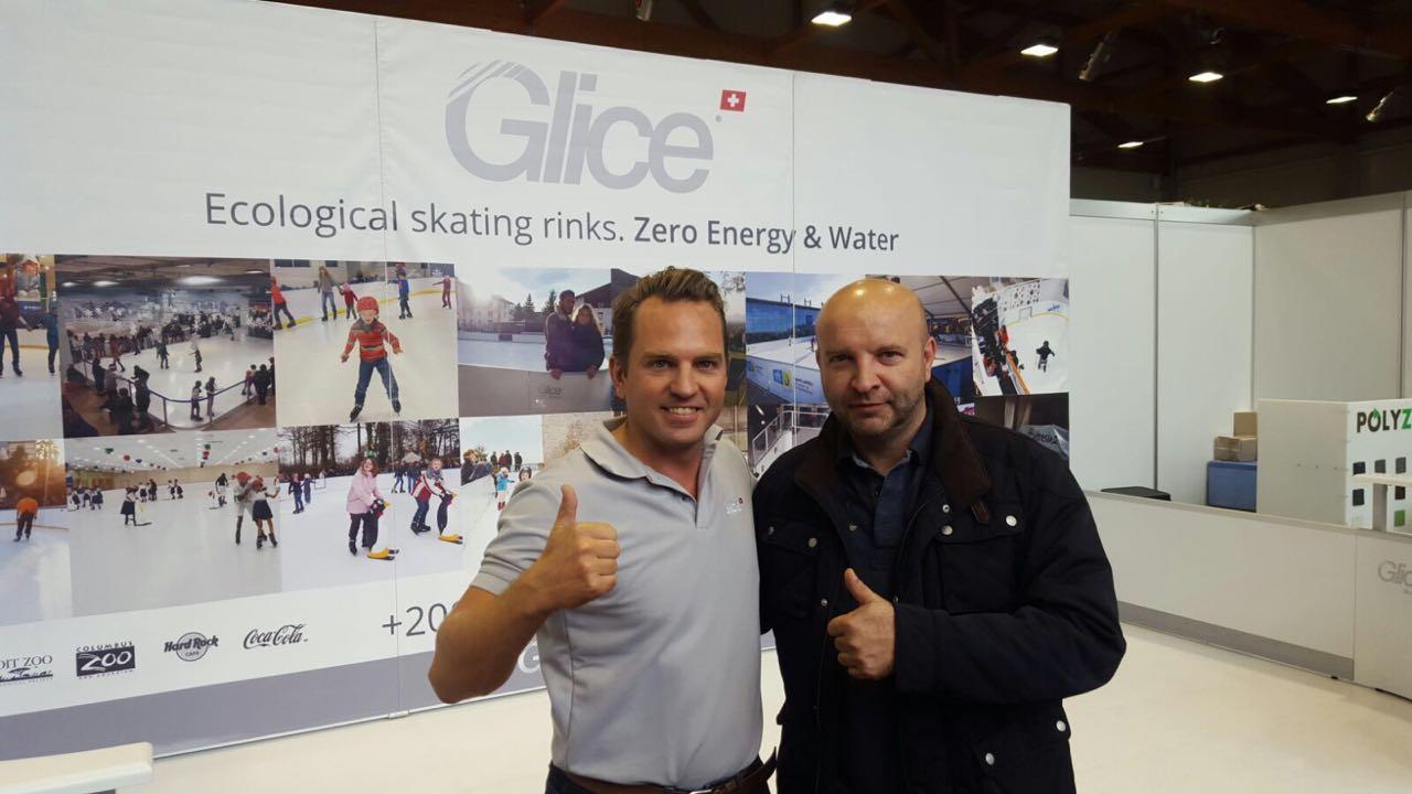 Prima pista di ghiaccio ecologico Glice® in Croazia!