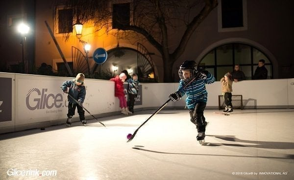 Glice® Used Synthetic Ice Rinks: High Quality, Low Price