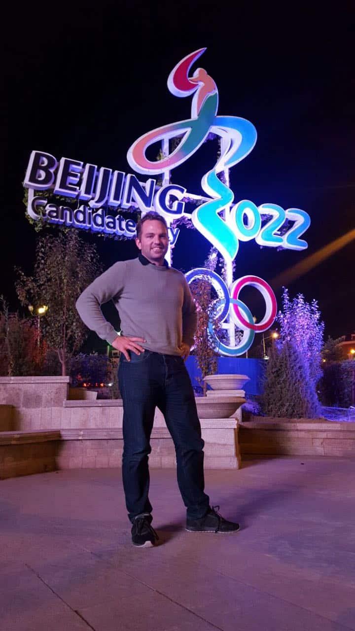 Il cofondatore di Glice® Ghiaccio Sintetico Viktor Meier è pronto per Pechino 2022!