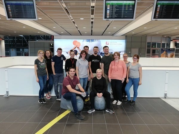 Second Year in a Row: Airport on Ice with a Glice® Synthetic Ice Rink in Dresden